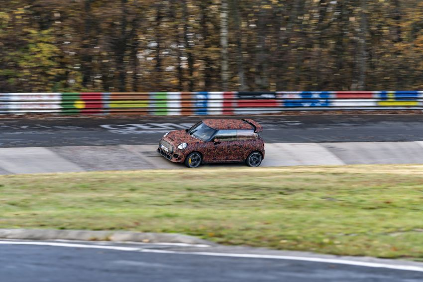 MINI John Cooper Works EV models in development; petrol JCW models to coexist with electric versions Image #1220008