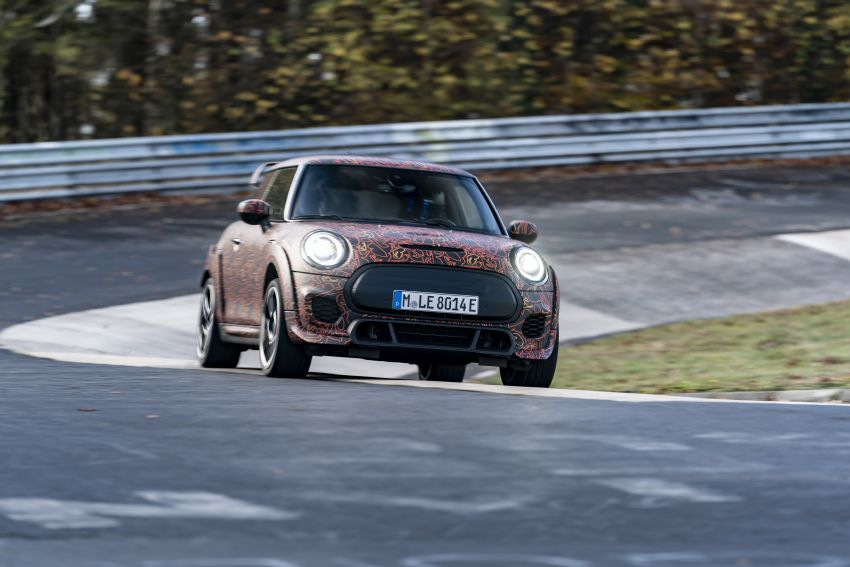 MINI John Cooper Works EV models in development; petrol JCW models to coexist with electric versions Image #1220009