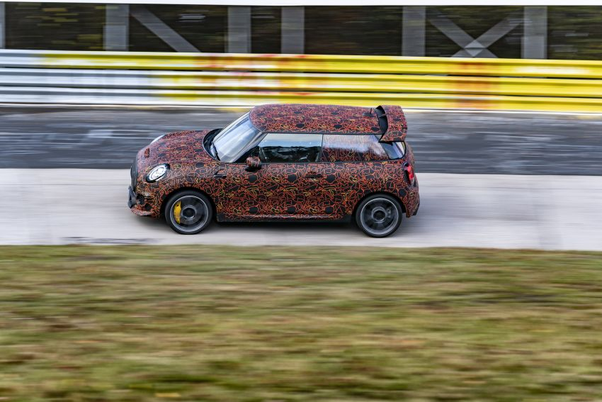 MINI John Cooper Works EV models in development; petrol JCW models to coexist with electric versions Image #1220010