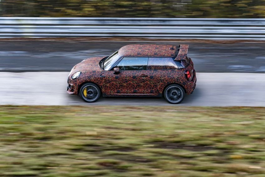 MINI John Cooper Works EV models in development; petrol JCW models to coexist with electric versions Image #1220011