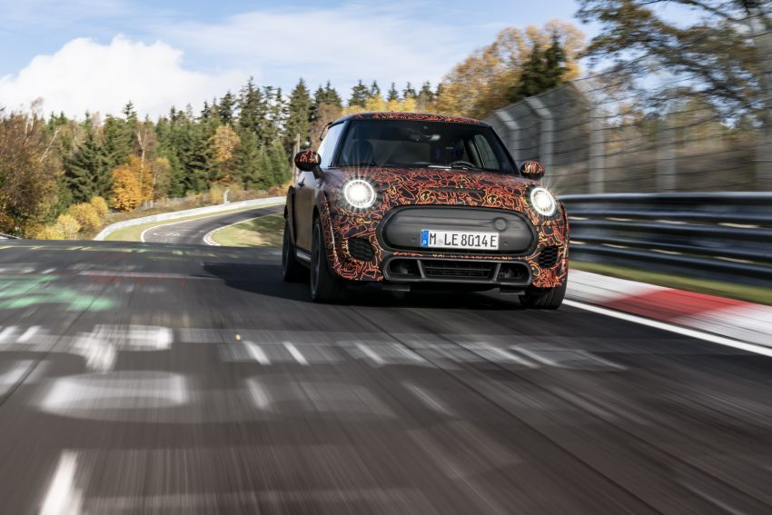 MINI John Cooper Works EV models in development; petrol JCW models to coexist with electric versions Image #1220012