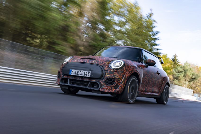 MINI John Cooper Works EV models in development; petrol JCW models to coexist with electric versions Image #1220014