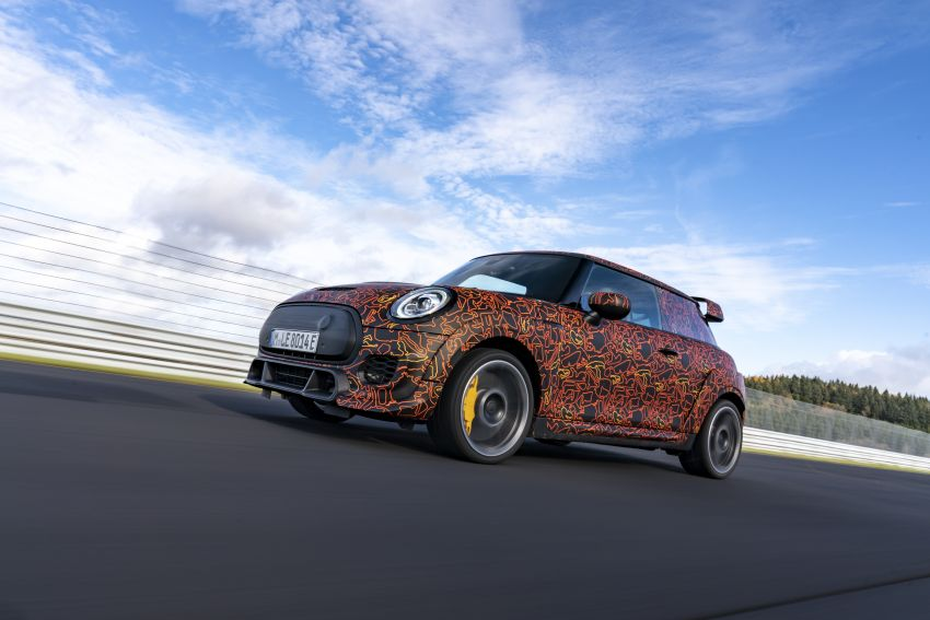 MINI John Cooper Works EV models in development; petrol JCW models to coexist with electric versions Image #1220015