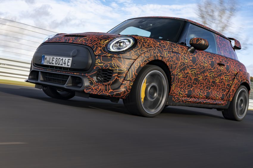MINI John Cooper Works EV models in development; petrol JCW models to coexist with electric versions Image #1220016