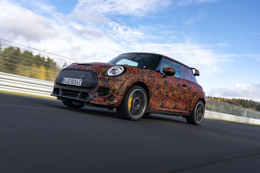 MINI John Cooper Works EV models in development; petrol JCW models to coexist with electric versions Image #1220017