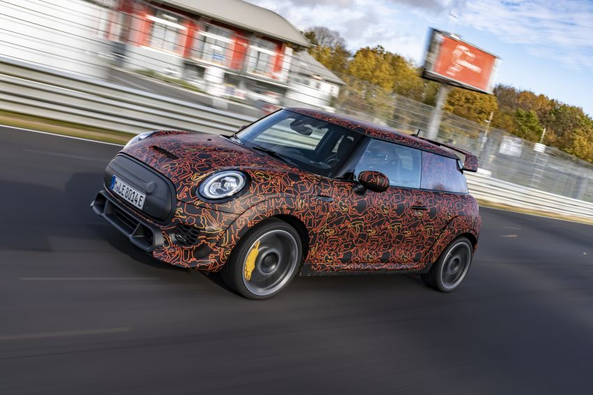 MINI John Cooper Works EV models in development; petrol JCW models to coexist with electric versions Image #1220018