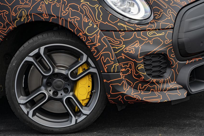 MINI John Cooper Works EV models in development; petrol JCW models to coexist with electric versions Image #1220021