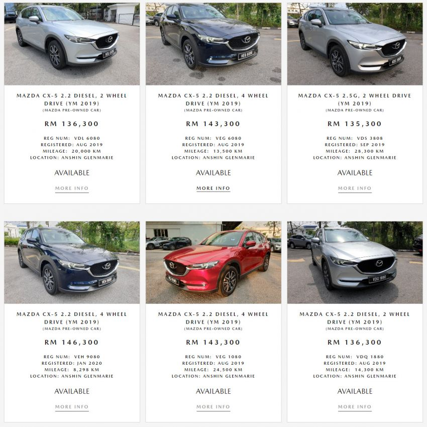 Mazda Anshin pre-owned programme goes online with new one-stop website to buy or sell Mazda vehicles Image #1220582
