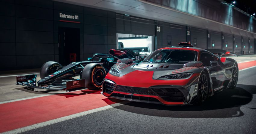Mercedes-AMG Project One driven by Lewis Hamilton Image #1223973