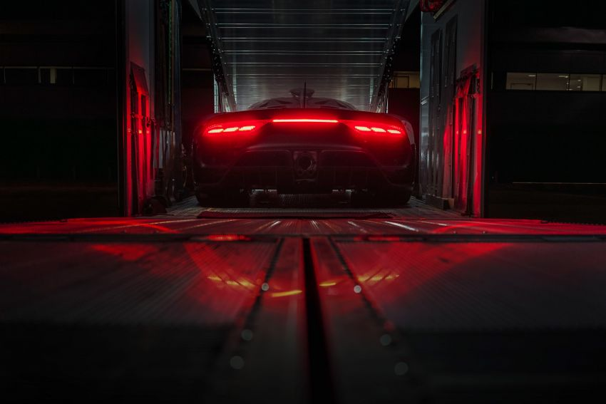 Mercedes-AMG Project One driven by Lewis Hamilton Image #1223975