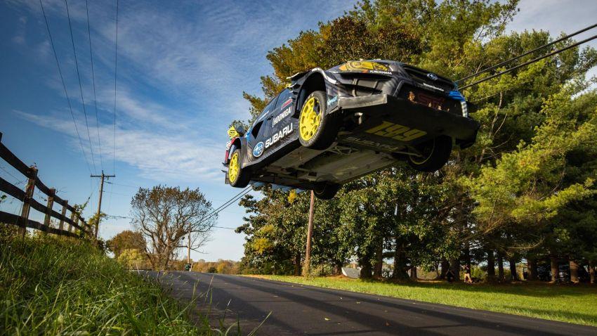 Gymkhana 2020: Aksi Travis Pastrana dengan Subaru WRX STI berkuasa 862 hp/906 Nm dan sayap aktif! Image #1222092