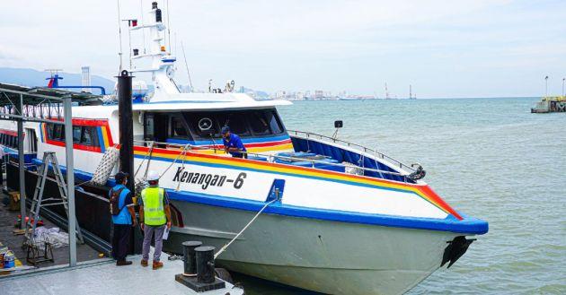 New Penang passenger ferry - trips under 10 minutes - paultan.org