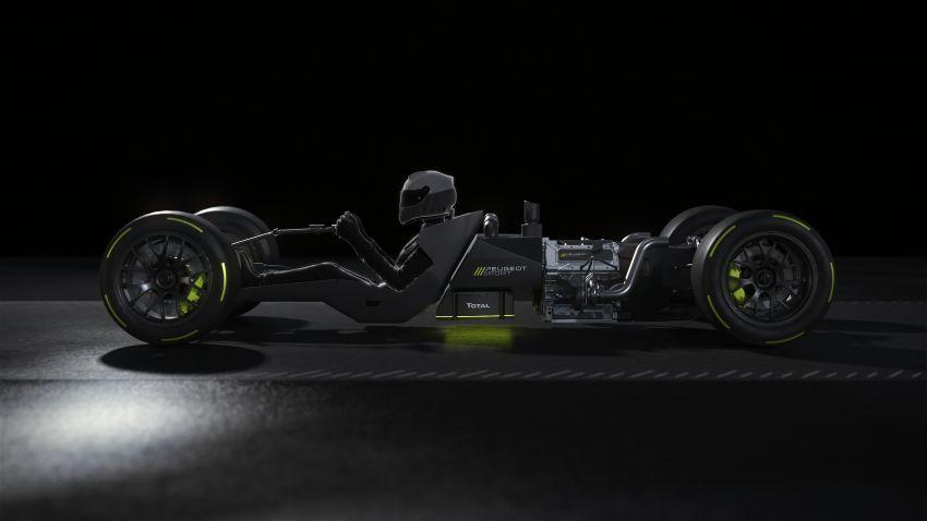 Peugeot Sport Le Mans Hypercar details revealed – 680 hp 2.6L biturbo V6, 268 hp front axle e-motor Image #1223851