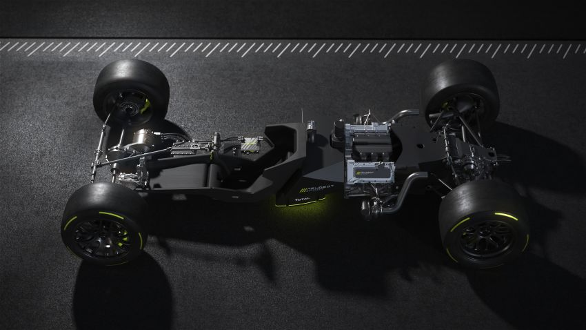Peugeot Sport Le Mans Hypercar details revealed – 680 hp 2.6L biturbo V6, 268 hp front axle e-motor Image #1223857
