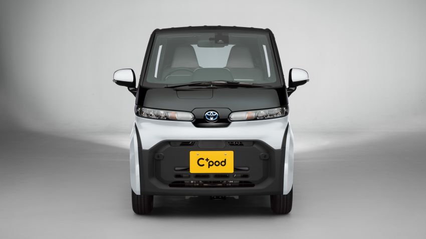 Toyota C+pod debuts in Japan – two-seater urban EV with 150 km range, launch for end users in 2022 Image #1228502