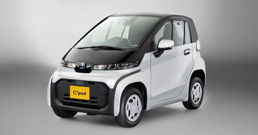 Toyota C+pod debuts in Japan – two-seater urban EV with 150 km range, launch for end users in 2022 Image #1228500