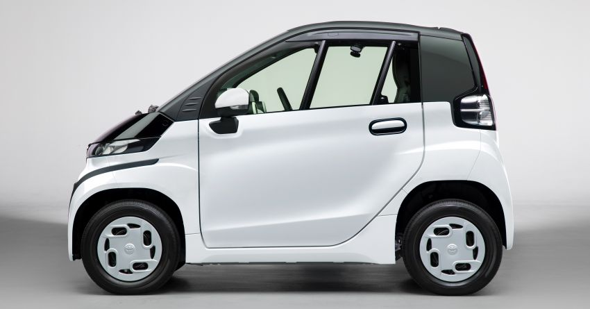 Toyota C+pod debuts in Japan – two-seater urban EV with 150 km range, launch for end users in 2022 Image #1228497