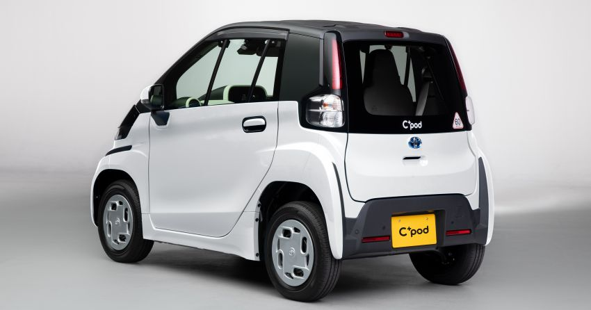Toyota C+pod debuts in Japan – two-seater urban EV with 150 km range, launch for end users in 2022 Image #1228495