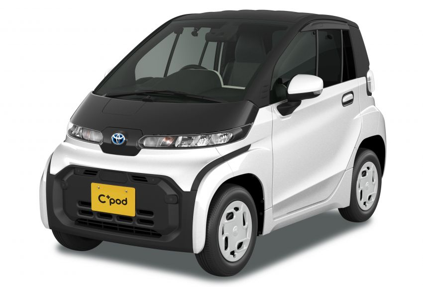 Toyota C+pod debuts in Japan – two-seater urban EV with 150 km range, launch for end users in 2022 Image #1228475