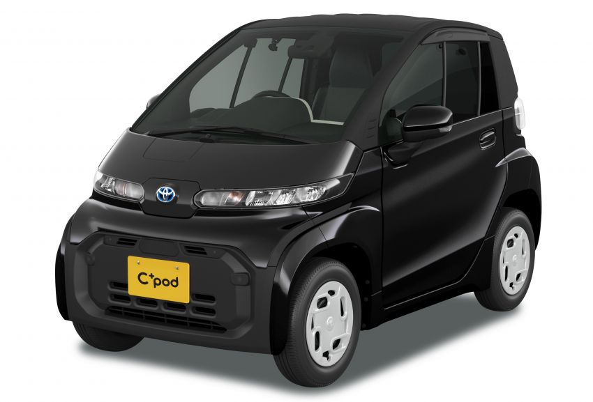 Toyota C+pod debuts in Japan – two-seater urban EV with 150 km range, launch for end users in 2022 Image #1228474