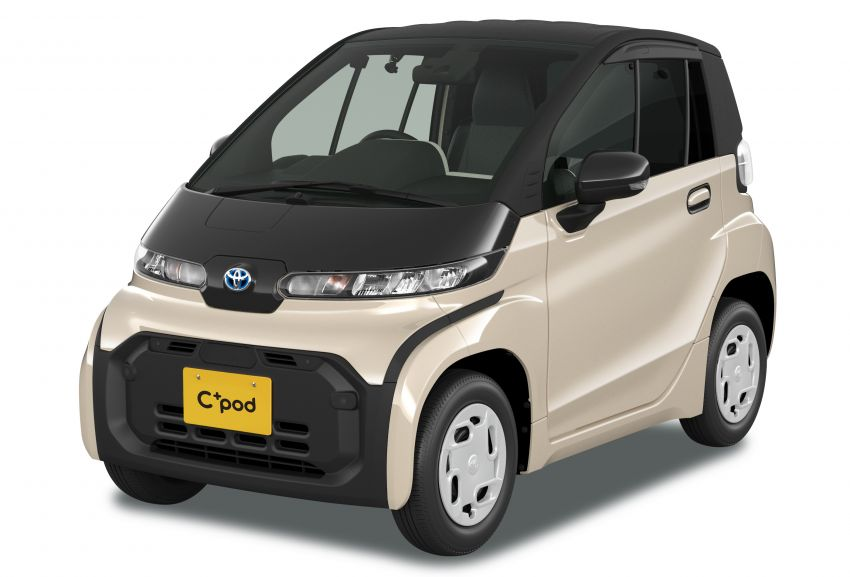 Toyota C+pod debuts in Japan – two-seater urban EV with 150 km range, launch for end users in 2022 Image #1228473