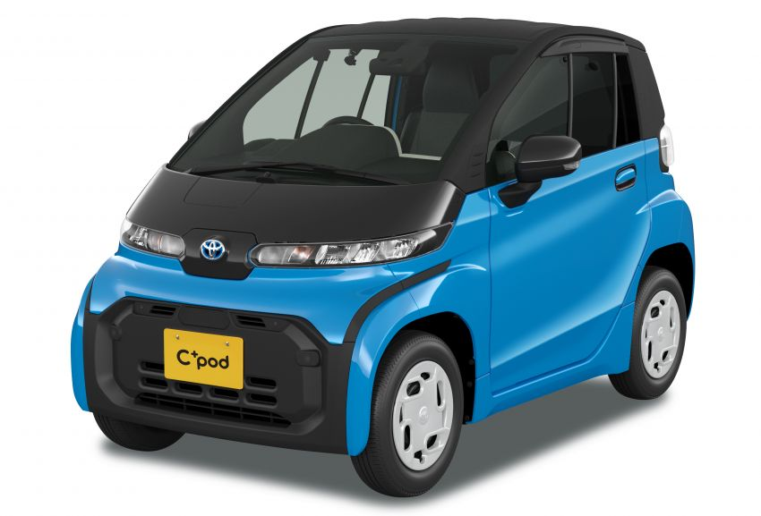 Toyota C+pod debuts in Japan – two-seater urban EV with 150 km range, launch for end users in 2022 Image #1228472