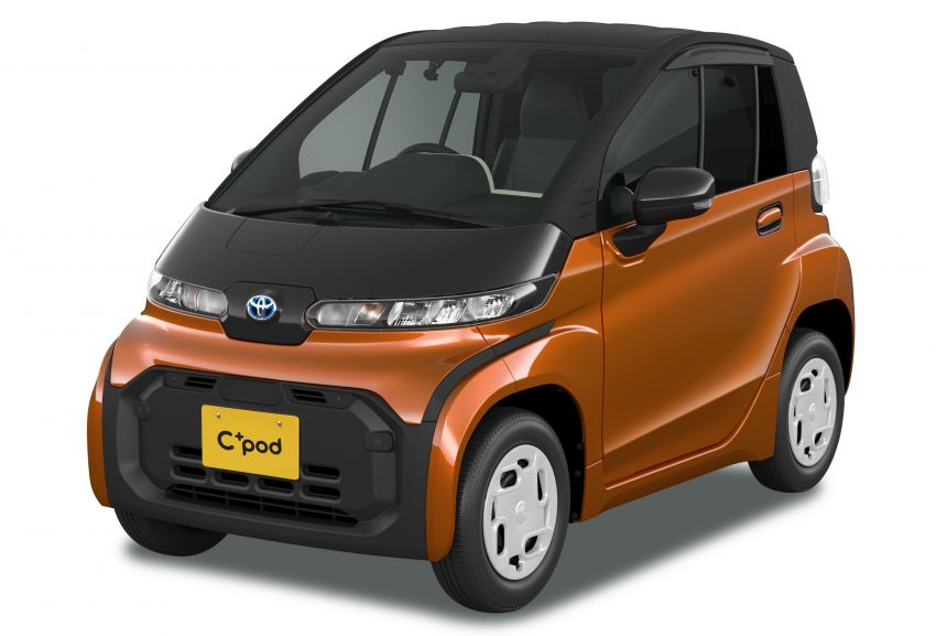 Toyota C+pod debuts in Japan – two-seater urban EV with 150 km range, launch for end users in 2022 Image #1228471