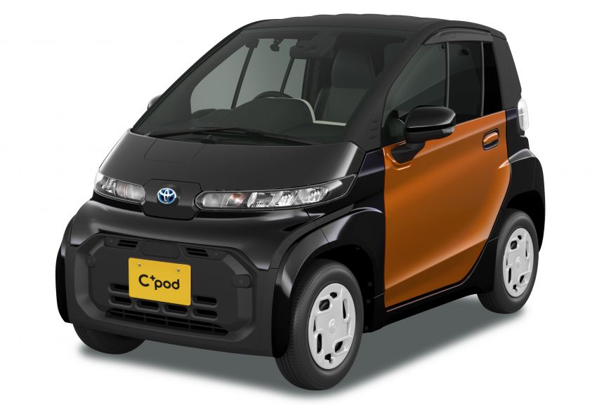 Toyota C+pod debuts in Japan – two-seater urban EV with 150 km range, launch for end users in 2022 Image #1228470