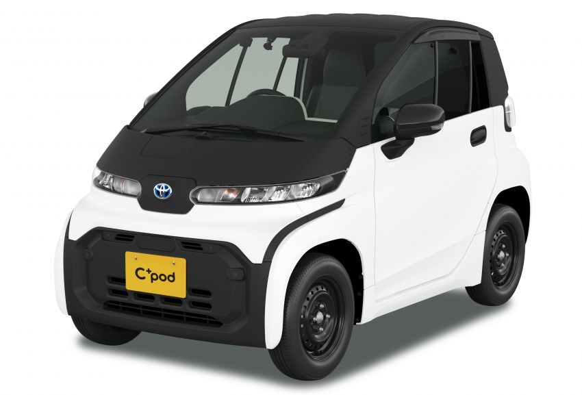 Toyota C+pod debuts in Japan – two-seater urban EV with 150 km range, launch for end users in 2022 Image #1228469