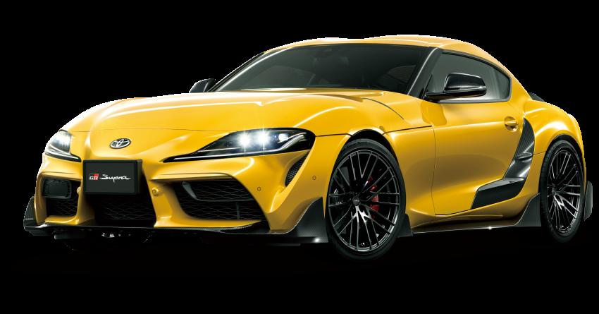 Toyota's TRD, Modellista reveal exhibits for virtual Tokyo Auto Salon – custom GR Yaris, Supra, Mirai star Image #1229327
