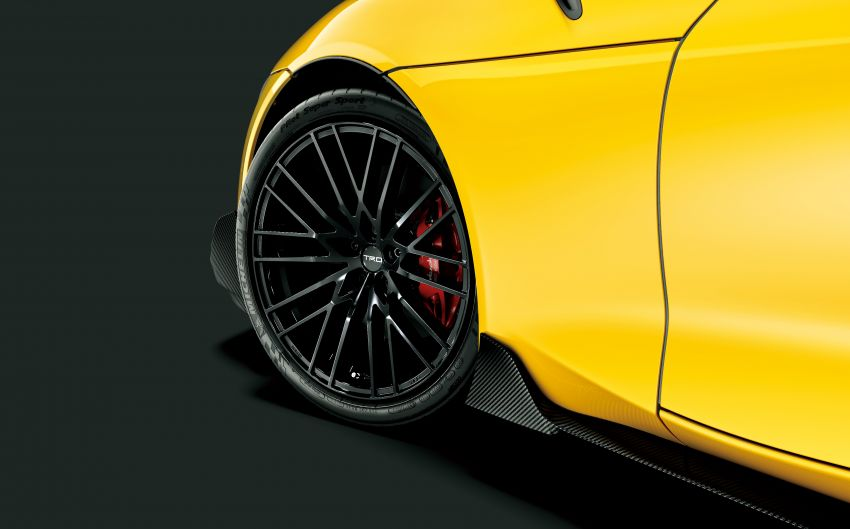 Toyota's TRD, Modellista reveal exhibits for virtual Tokyo Auto Salon – custom GR Yaris, Supra, Mirai star Image #1229247