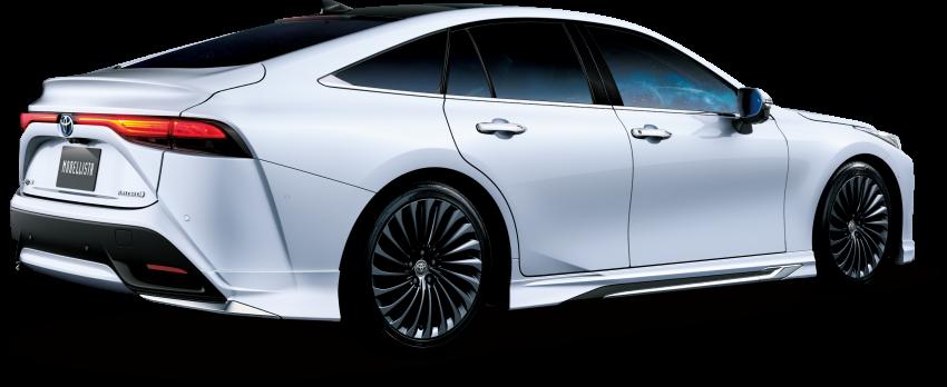 Toyota's TRD, Modellista reveal exhibits for virtual Tokyo Auto Salon – custom GR Yaris, Supra, Mirai star Image #1229307