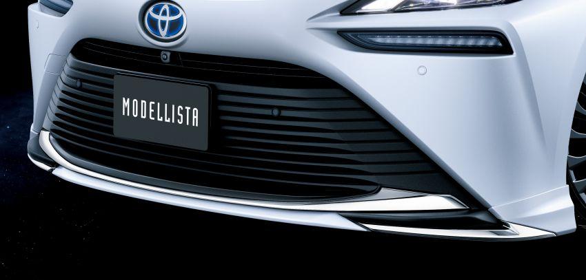 Toyota's TRD, Modellista reveal exhibits for virtual Tokyo Auto Salon – custom GR Yaris, Supra, Mirai star Image #1229308