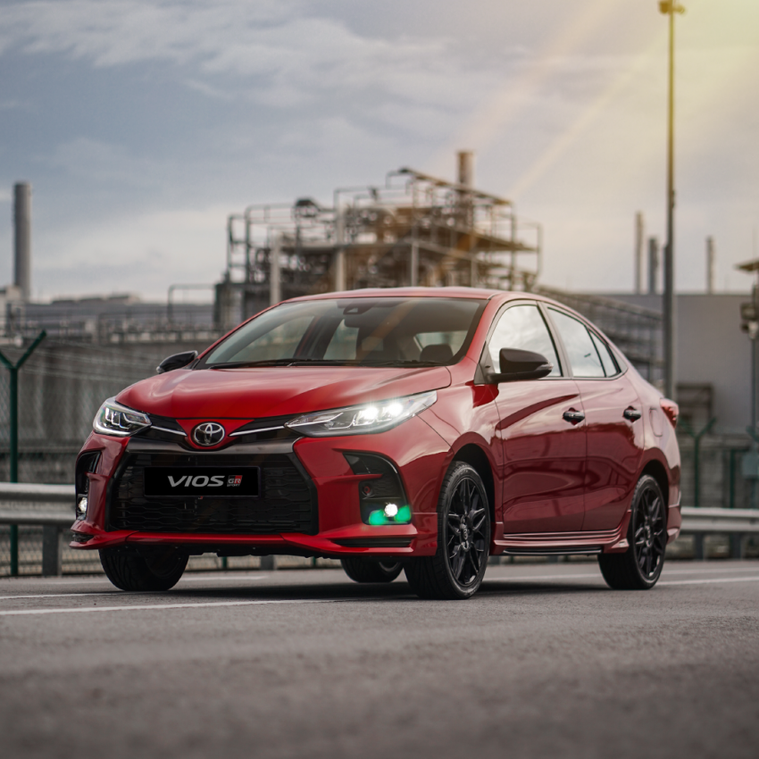 """Toyota Vios GR-S launched in Malaysia – """"10-speed"""" CVT, sports suspension, 17-inch rims; from RM95k Image #1225243"""