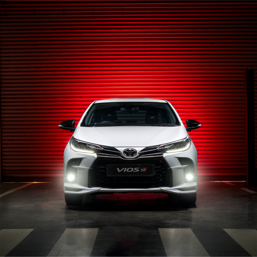 """Toyota Vios GR-S launched in Malaysia – """"10-speed"""" CVT, sports suspension, 17-inch rims; from RM95k Image #1225259"""