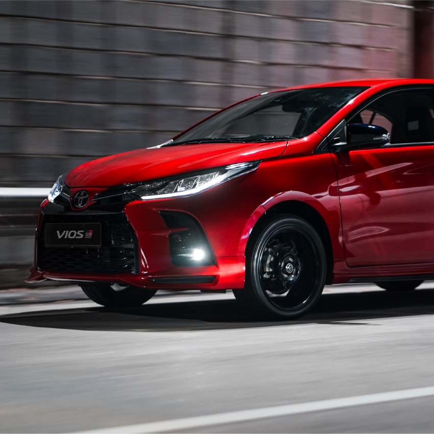 """Toyota Vios GR-S launched in Malaysia – """"10-speed"""" CVT, sports suspension, 17-inch rims; from RM95k Image #1225263"""