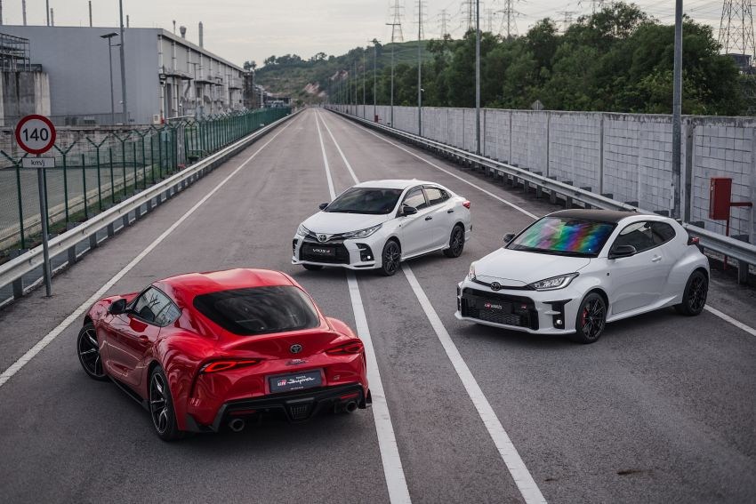 """Toyota Vios GR-S launched in Malaysia – """"10-speed"""" CVT, sports suspension, 17-inch rims; from RM95k Image #1225266"""