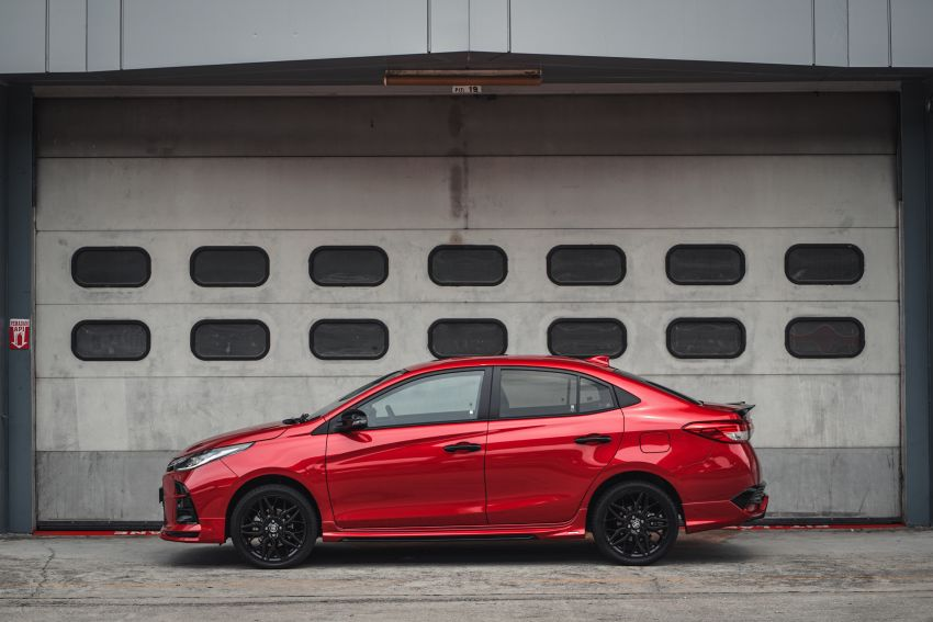 """Toyota Vios GR-S launched in Malaysia – """"10-speed"""" CVT, sports suspension, 17-inch rims; from RM95k Image #1225268"""