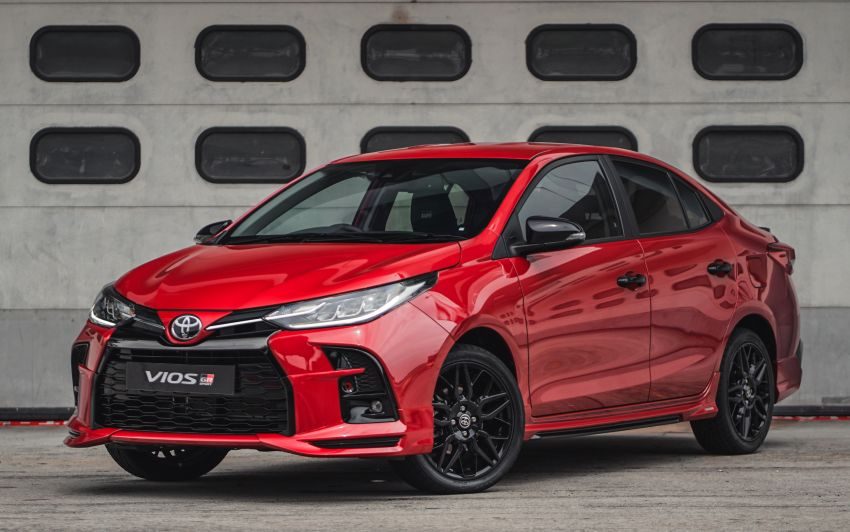 """Toyota Vios GR-S launched in Malaysia – """"10-speed"""" CVT, sports suspension, 17-inch rims; from RM95k Image #1225270"""