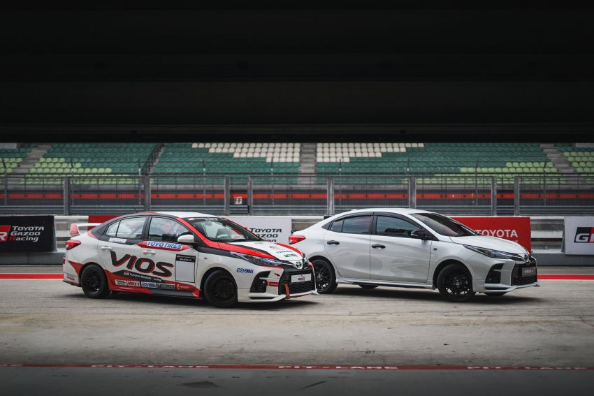 """Toyota Vios GR-S launched in Malaysia – """"10-speed"""" CVT, sports suspension, 17-inch rims; from RM95k Image #1225278"""