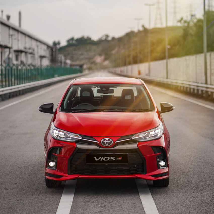 """Toyota Vios GR-S launched in Malaysia – """"10-speed"""" CVT, sports suspension, 17-inch rims; from RM95k Image #1225247"""