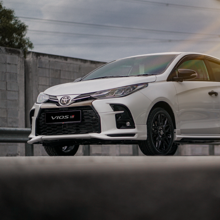 """Toyota Vios GR-S launched in Malaysia – """"10-speed"""" CVT, sports suspension, 17-inch rims; from RM95k Image #1225251"""