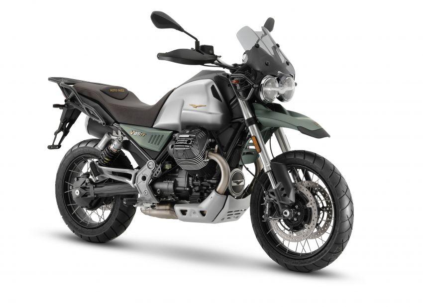 Moto Guzzi celebrates 100th anniversary in 2021  – Moto Guzzi V7, V9 and V85TT in centennial livery Image #1238349