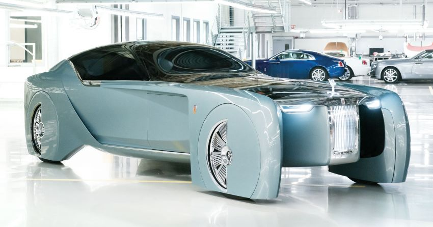"Rolls-Royce ""Silent Shadow"" to kickstart EV era soon – BMW-powered luxury car with over 500 km range? Image #1235686"