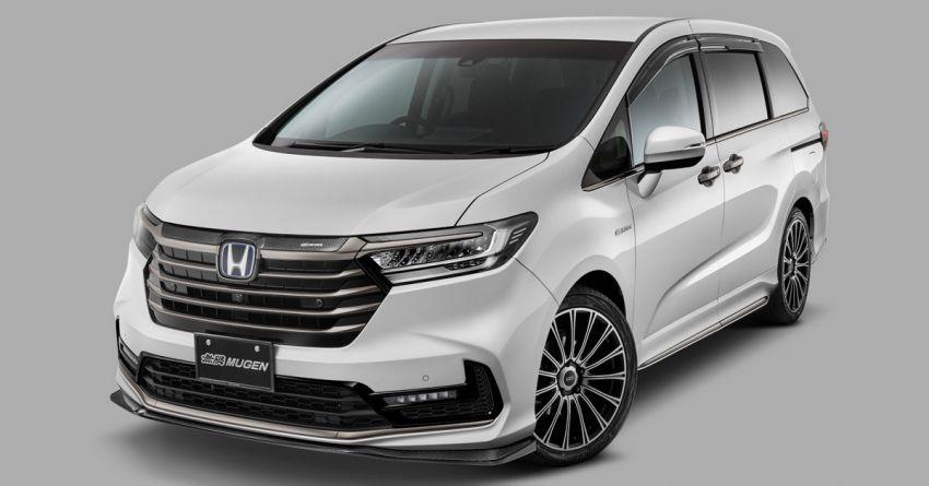 Honda Odyssey facelift gets Mugen parts in Japan Image #1236249