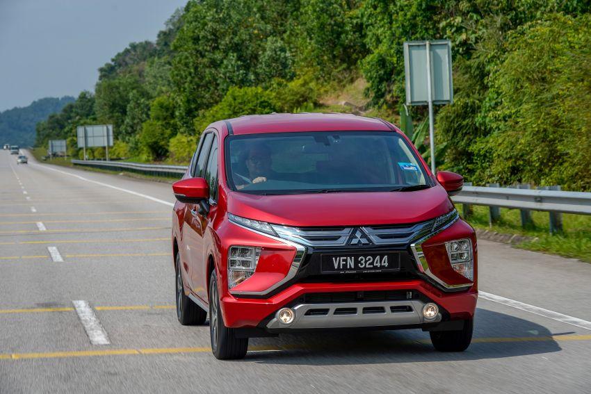 FIRST DRIVE: 2021 Mitsubishi Xpander review, RM91k Image #1233079