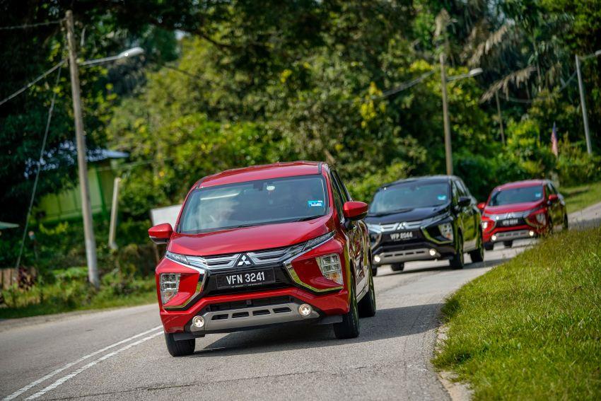 FIRST DRIVE: 2021 Mitsubishi Xpander review, RM91k Image #1233104