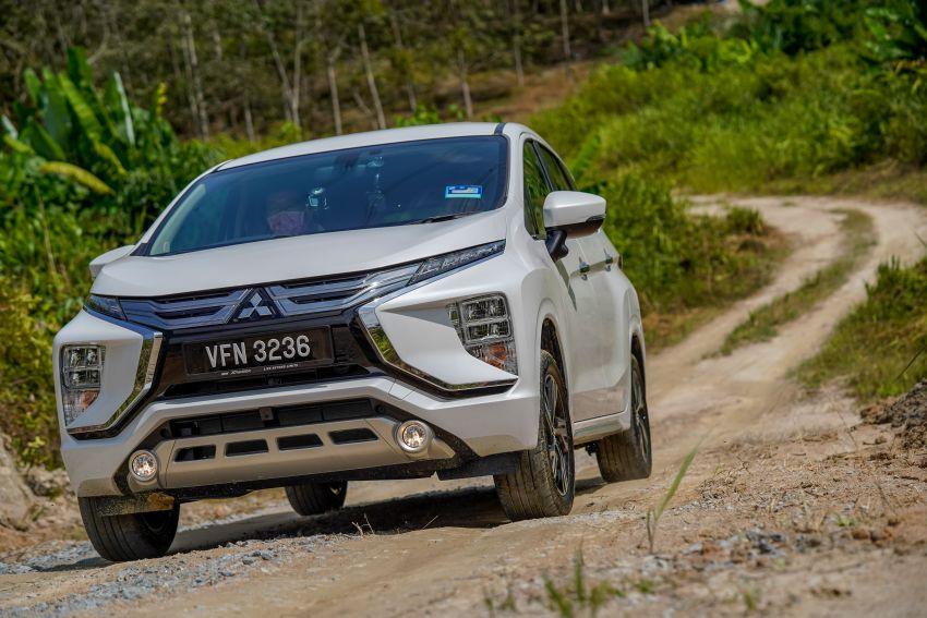 FIRST DRIVE: 2021 Mitsubishi Xpander review, RM91k Image #1233110