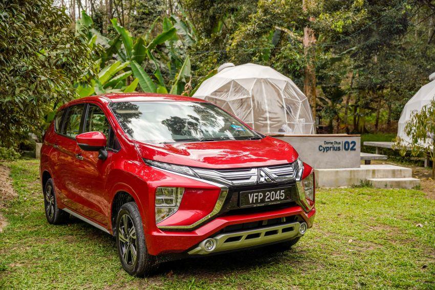 FIRST DRIVE: 2021 Mitsubishi Xpander review, RM91k Image #1233121