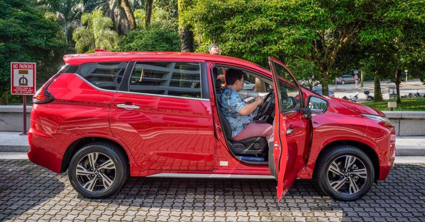 FIRST DRIVE: 2021 Mitsubishi Xpander review, RM91k Image #1233076